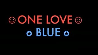 ONE LOVE - BLUE (COVER WITH LYRICS)