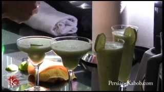 Cucumber Smoothy | شربت سکنجبین و خیار