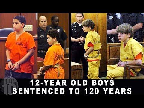 10 KIDS SERVING LIFE IN PRISON Compilation
