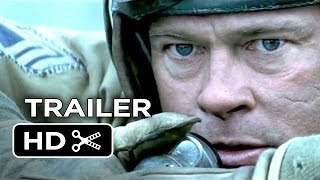 Fury Official Trailer and Full Movie 2015 Brad Pitt, Shia LaBeouf [HD]