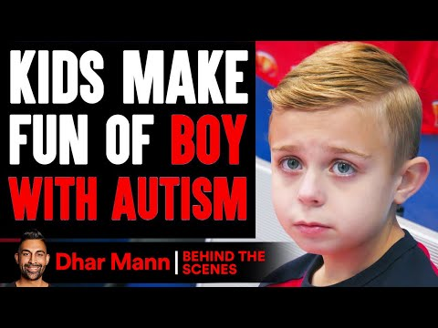 Kids MAKE FUN OF Boy With AUTISM Behind The Scenes Dhar Mann Studios