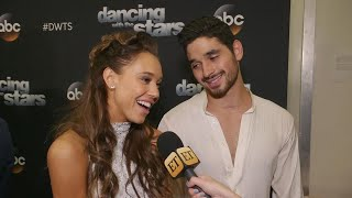 DWTS: Alexis Ren Was 'Shaking' Before Emotional Tribute to Her Late Mom (Exclusive)