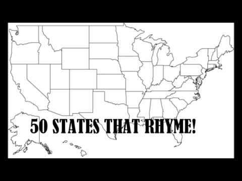 watch 50 States that Rhyme