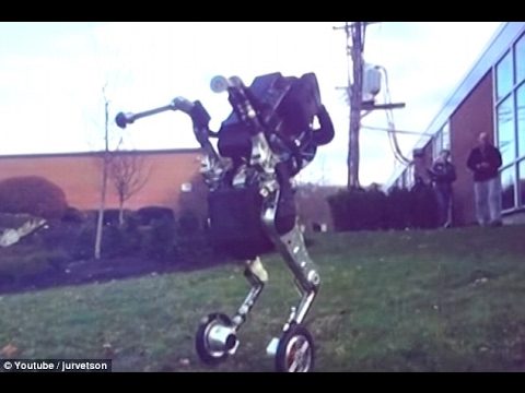 The latest nightmare inducing Boston Dynamics robots