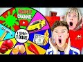 Spinning a MYSTERY Wheel & Doing Whatever it Lands on - Challenge