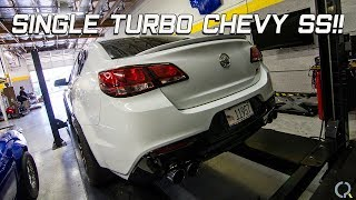 CPR Ep  45 Single Turbo Chevy SS! F 1X C6Z Gets An RPM Powerglide!