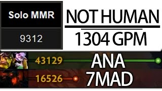 Almost Triple Networth -NOT HUMAN-  1304 GPM Alchemist by ANA Top MMR World