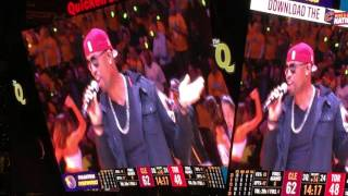 Montell Jordan 'This Is How We Do It' at Cavs halftime