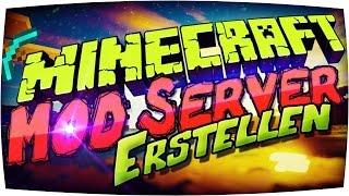 ⭓ Minecraft MOD SERVER Erstellen | 1.10.2 / 1.10 FORGE Server Installieren DEUTSCH Plugins