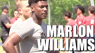 USC commit : WR || Marlon Williams '17 McGill-Toolen (Mobile, AL) TheOpening Spotlight 2016