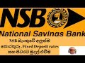 Fixed Deposit and Revenue Stats on NSB Bank