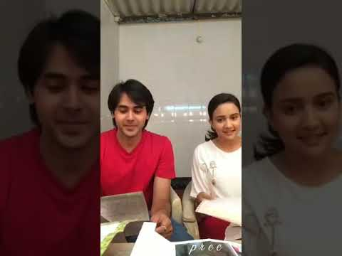 YUDKBH - Ashi and Randeep read letters from fans with Sony.