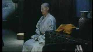 Bald actress in chinese movie