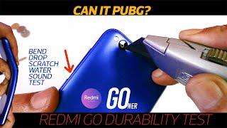 Redmi Go Durability Test - Does cheap mean bad quality? |Can it PUBG?|