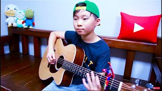 Despacito (Luis Fonsi, ft.Daddy Yankee) fingerstyle guitar arranged & cover by 10 year-old kid Sean