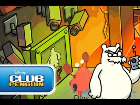 Club penguin Operación Apagón Capítulo 1 La Base de Herbert