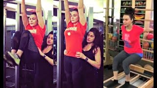 Preity Zinta Hot Workout 2018