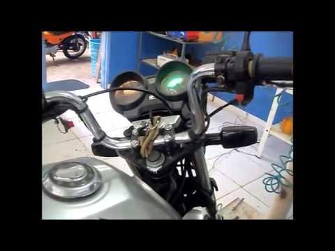 Titan 150 e Twister 250 com CDI 12v universal inteligente &CIDERIN&