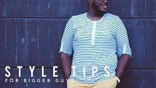 Style Tips For Big Guys | BRYANT DEVON