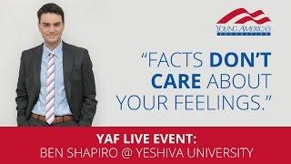 Ben Shapiro LIVE at Yeshiva University