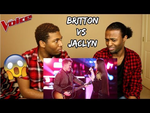 "The Voice 2018 Battle - Britton Buchanan vs. Jaclyn Lovey: ""Thinking Out Loud"" (REACTION)"