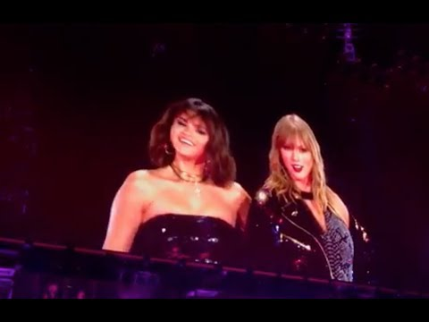 Selena Gomez and Taylor Swift - Hands To Myself (519) - Rep Tour Pasadena