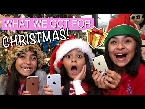 What I Got For Christmas 2016 REVIEWS & HAULS GEM Sisters
