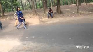 Prank part 01 | botanical garden Dhaka|Titumir clg students|Blackwhite present101..