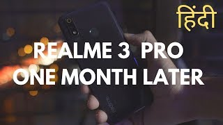 Realme 3 Pro Long Term Review in Hindi - This Phone is GREAT