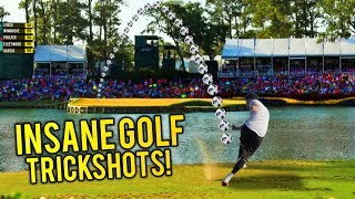INSANE GOLF TRICK SHOTS YOU WON
