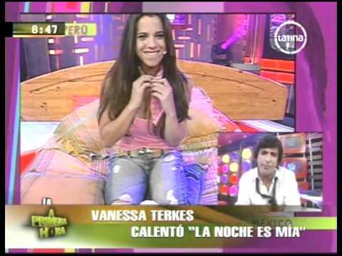 Vanessa Terkes en La Noche es Mía