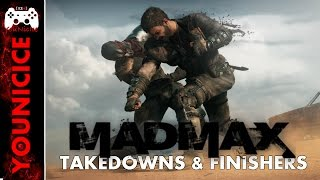 Mad Max Takedowns & Finishers | Finishing Moves | Kill Compilation | Kill Montage Part 1