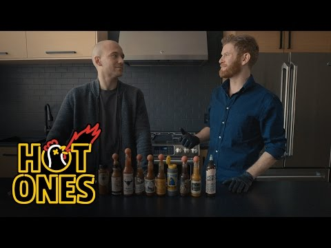 Xxx Mp4 Hot Sauce Shopping At Heatonist Hot Ones 3gp Sex