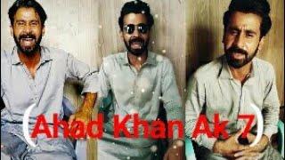 Ahad Khan Ak 7 New Sad Shayari Latest Video Ahad Khan Ak 7