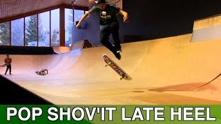 POP SHOV'IT LATE HEELFLIP