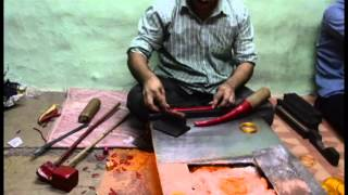 Making of Lac Bangles in Hyderabad- Charminar