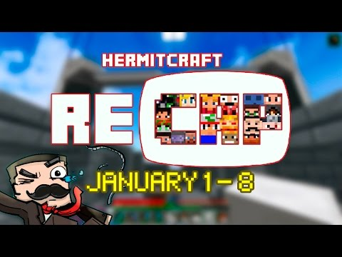 HermitCraft Recap January 1 January 8 season 4