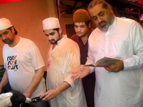 Shaikh Mohd Afzal Goat Cutting