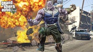 GTA 5 THANOS MOD - MARVEL INFINITY WAR!! (GTA 5 Mods)