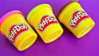 Learn Colors Play Doh Peppa Pig Minion Pj Mask Surprise Toys Kids Finger Family Song Baby Rhymes