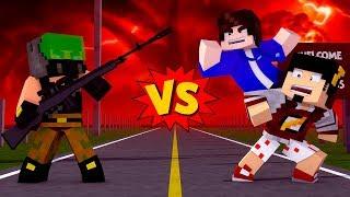 Minecraft: DOIS VS ATIRADOR - MUNDO INVERTIDO Ep.3 ‹ AMENIC ›