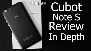 Cubot Note S Review | In Depth 2GB RAM 16GB ROM Quad Core