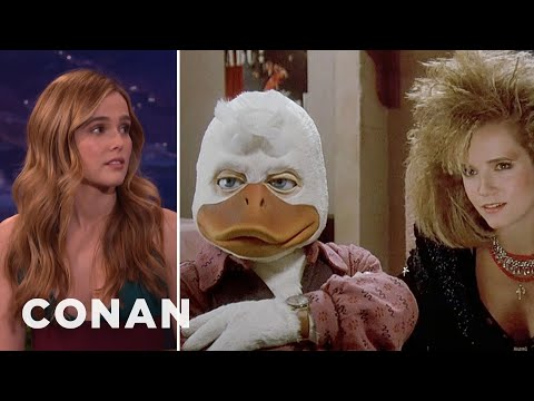 Xxx Mp4 Zoey Deutch Watched Her Mom Have Sex With Howard The Duck CONAN On TBS 3gp Sex