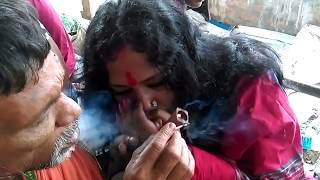 Bhavani and Tara Hijra Tantrics at Khamakhya