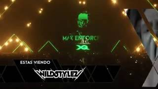 Wildstylez & Max Enforcer | X-Qlusive | Andes Arena Chile