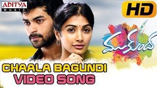 Chaala Bagundi Full Video Song - Mukunda Video Songs - Varun Tej, Pooja Hegde