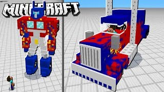 BECOME A TRANSFORMER in Minecraft!