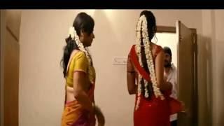 Hot actress anushka navel show in saree while dress change- slowmo edited