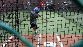 Summer Swings at the Batting Cages