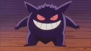 Gastly, Haunter, and Gengar Clips